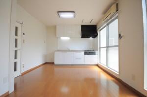 文京区小石川賃貸マンションメゾンドラヴォーグのリビングダイニング