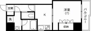 アドューYM伝通院2号室